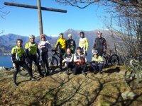 Il gruppo in Mountain Bike