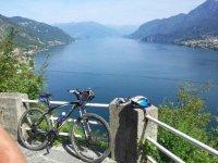 Mountain bike a Como