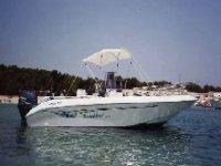 Corso di pesca in barca