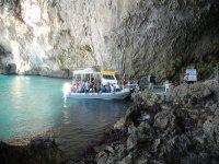 Visitando le grotte