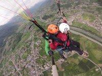 Paragliding in Pila