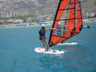 Noleggio windsurf all'Isola delle Femmine per 1ora