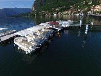 Le barche ormeggiate