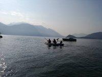 Kayak sul lago