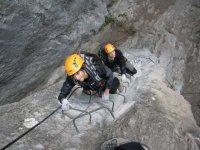 Vie ferrate in Val di Susa