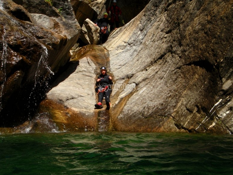 Canyoning Chalamy
