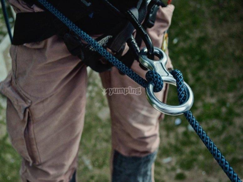 Il materiale per arrampicare