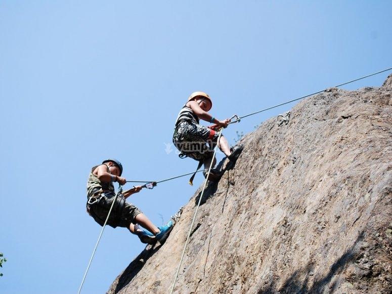 Lezioni di arrampicata