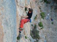 Lezioni di arrampicata da 1h Courmayeur