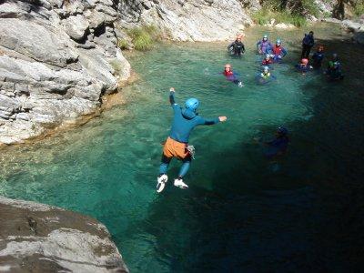 Canyoning rio Barbaria a Rocchetta Nervina