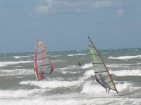 Sailing the waves with windsurfing