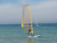 On the windsurf