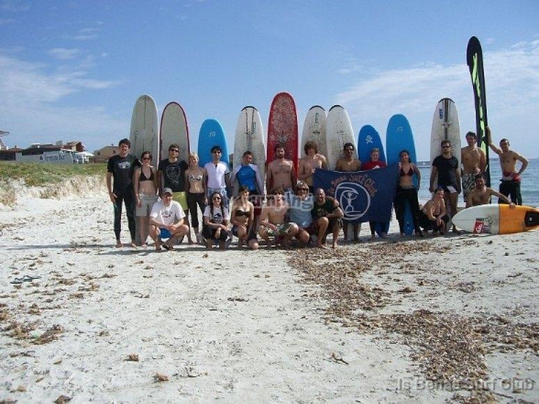 Abbiamo lezioni di tutti i livelli Surf