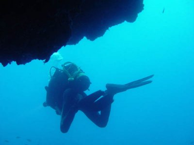 Diving Tremiti with patent