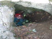 Entrando in Grotta