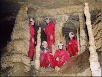 Percorso in grotta
