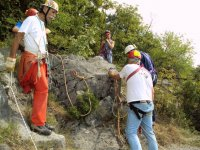 La Prima Uscita con gli Allievi alla ex cava di Monrupino (TS)