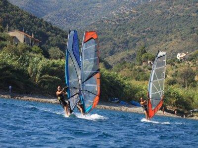 Windsurfing week x 2 people in Cilento