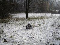 In appostamento sulla neve!
