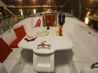 Yes dinner on board