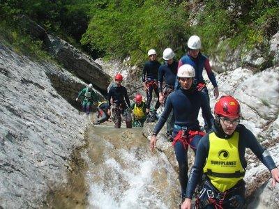 Gruppo Speleoforristico Besenello Canyoning