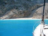 In barca verso la Grecia