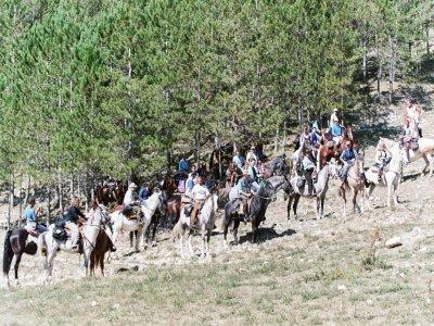 May 25: 1 day on horseback in (Abruzzo)