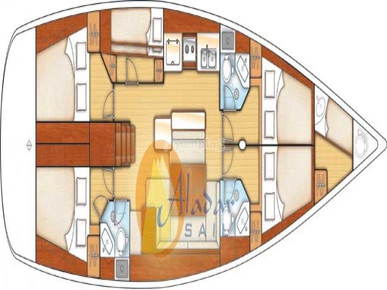 layout imbarcazione