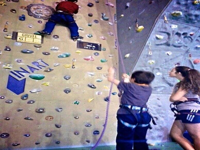 lezioni d'arrampicata