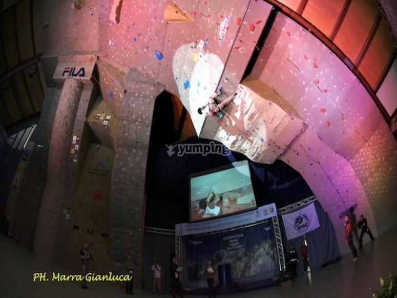 gare d'arrampicata