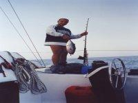 Pesca di un Tonno