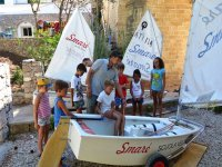 learning the secrets of sailing