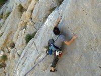 Arrampicata sulla Roccia