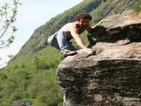 Sergio sulle rocce