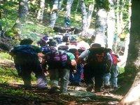 Path of Monte Spina dell'Ausino