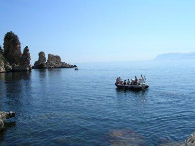 Cetaria Diving Center Scopello  Escursione in Barca