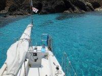 Gita in barca in Sardegna