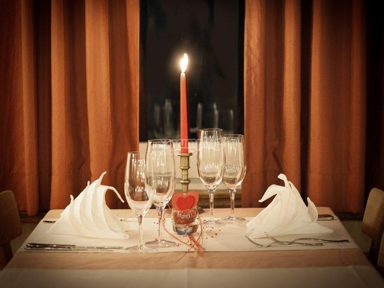 Romantica cena per due