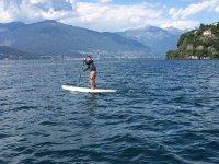 Con il paddle sul Lago Maggiore