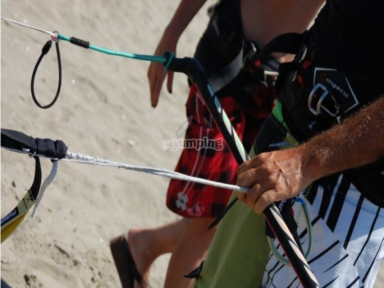 Corsi base kite Lazio