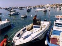 In barca a Lampedusa