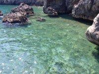 the spiaggia di Santa Croce in Costiera