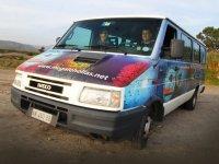 Diving minibus