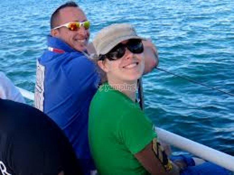 Ragazzi del corso vela