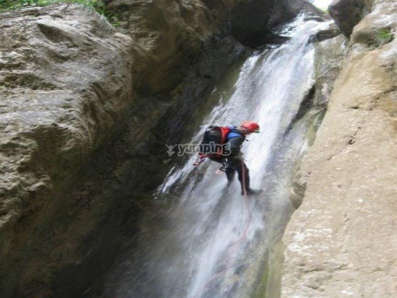 Canyoning Parco del pollino
