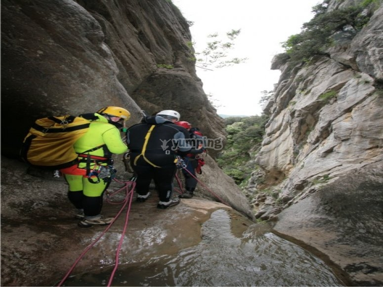 Discese Canyoning Parco del Pollino