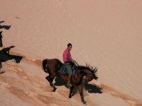 Cavalcata sulle dune