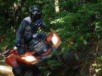 Freeride in quad