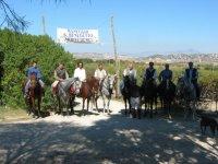 A cavallo nella Valle de Templi
