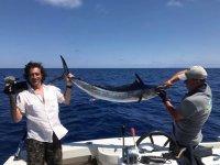 Un tonno appena pescato